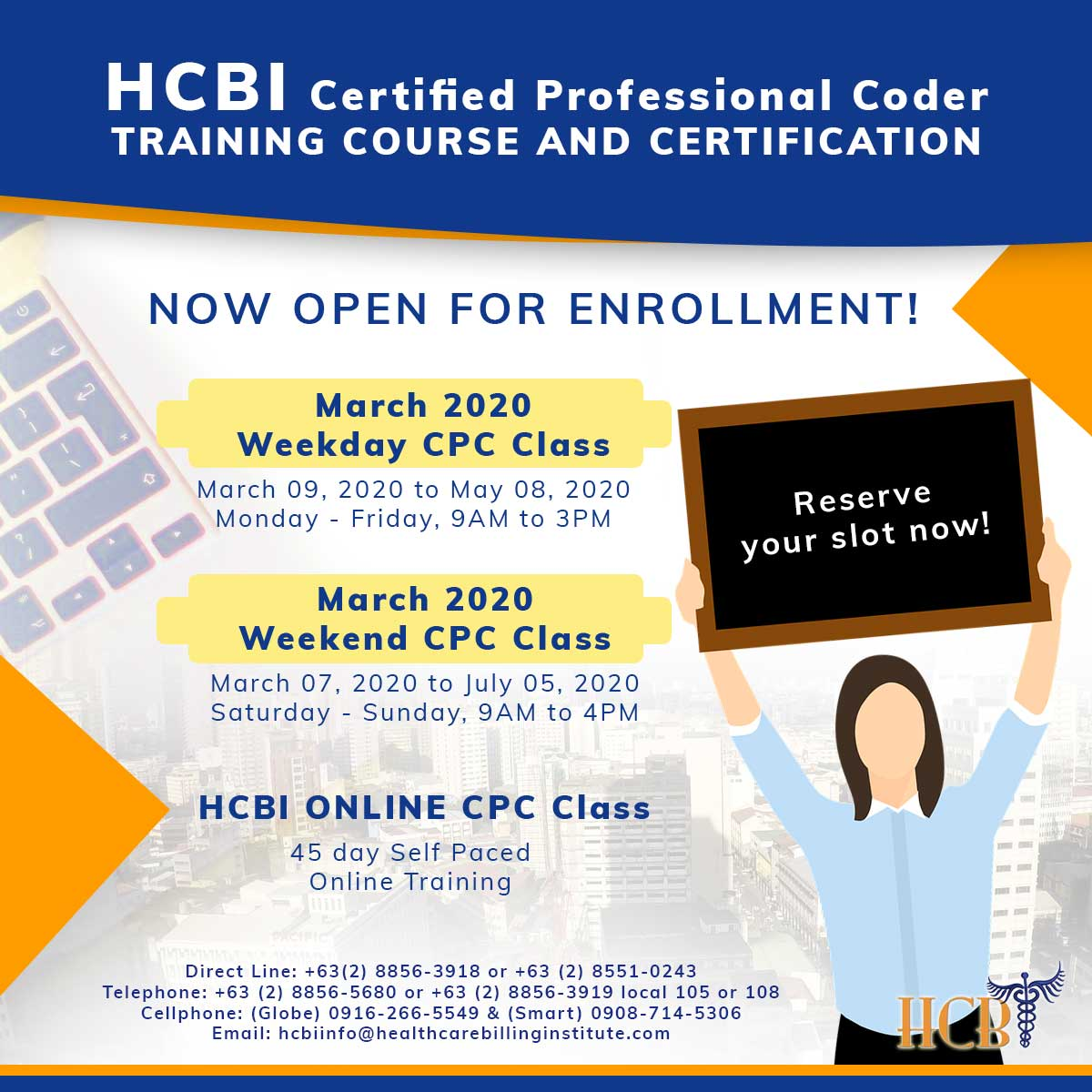 March-2020-Weekday-and-Weekend-CPC-Classes, hcbi